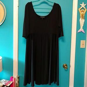 "LOOKS NEW LANE BRYANT CLASSIC ""LITTLE BLACK DRESS"""